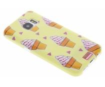 Blond Amsterdam Icecream Softcase für Samsung Galaxy S7