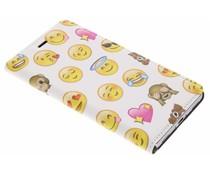 Emoji Design Booklet für Huawei P8