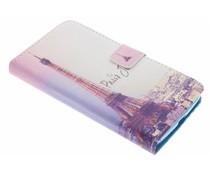 Design TPU Booktype Hülle für Motorola Moto G5