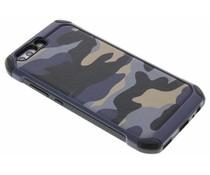 Blaue Camouflage Hardcase-Hülle für Huawei P10