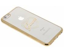 Guess Signature Heart TPU Case für das iPhone 6/6s - Gold