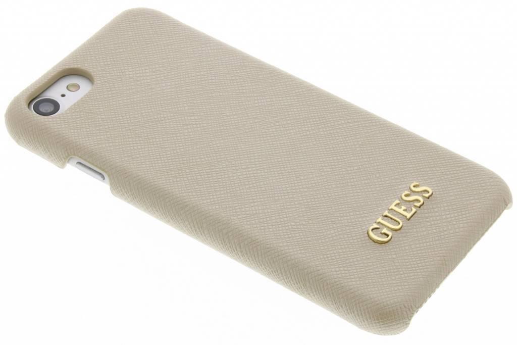 Guess Saffiano Collection Hardcase für das iPhone 8 / 7 - Beige