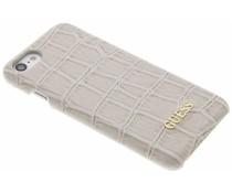 Guess Crocodile Hardcase Schutzhülle für das iPhone 8 / 7 - Beige
