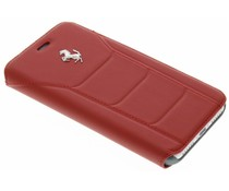 Ferrari Leather Booktype Case iPhone 8 / 7 - Rot