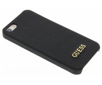 Guess Saffiano Collection Hardcase für das iPhone 5/5s/SE - Schwarz