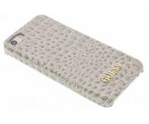 Guess Crocodile Hardcase Schutzhülle für das iPhone 5/5s/SE - Beige