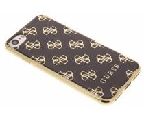 Guess 4G Soft TPU Case für das iPhone 8 / 7 - Gold