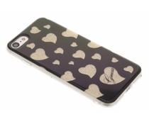 Guess Hearts Soft TPU Case für das iPhone 8 / 7 - Gold