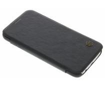 Nillkin Qin Leather Slim Booktype Hülle für Samsung Galaxy S7 - Schwarz