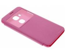 Nillkin Sparkle Slim Booktype-Hülle für das Honor 5C/Huawei GT3 - Magenta