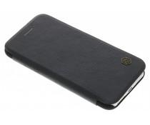 Nillkin Qin Leather Slim Booktype-Hülle für das iPhone 8 / 7 - Schwarz
