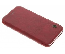 Nillkin Qin Leather Slim Booktype-Hülle für das iPhone 8 / 7 - Rot