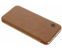 Nillkin Qin Leather Slim Booktype-Hülle für das iPhone 8 / 7 - Braun