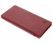 Nillkin Qin Leather Slim Booktype-Hülle für das Sony Xperia XZ/XZs - Rot