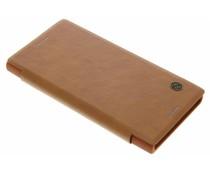 Nillkin Qin Leather Slim Booktype-Hülle für das Sony Xperia XZ/XZs - Braun
