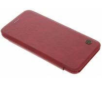 Nillkin Qin Leather Slim Booktype-Hülle für das Google Pixel - Rot
