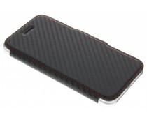 X-Doria Engage Folio Booklet Carbon für das iPhone 8 / 7 - Schwarz