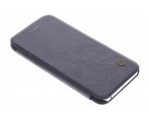 Nillkin Qin Leather Slim Booktype-Hülle für das iPhone 6/6s - schwarz