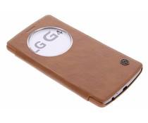 Nillkin Qin Window View Case für das LG G4 - Braun