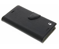 Krusell Borås FolioWallet  für das Sony Xperia X Compact - Schwarz