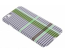 Celly Pied de Poule design Hardcase für das iPhone 6/6s - Grün