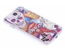 Celly DesignAwards Hardcase Schutzhülle für das Samsung Galaxy S4 - Teschio Skull