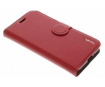 Fonex Identity BookCase für das Samsung Galaxy J1 (2016) - Rot