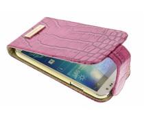 Valenta Glam FlipCase für das Samsung Galaxy S4 - Dunkelrosa