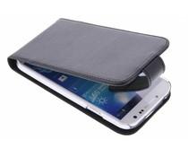 Valenta Flip classic luxe für das Samsung Galaxy S4 - Schwarz