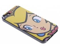 Super Mario Flexible TPU Case für das iPhone 5/5s/SE - Peach