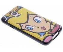 Super Mario Flexible TPU Case für das Samsung Galaxy S5 (Plus)/Neo - Peach