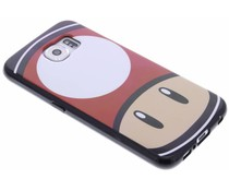Super Mario Flexible TPU Case für das Samsung Galaxy S6 - Mushroom