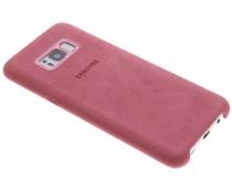 Samsung Original Alcantara Cover Rosa für das Galaxy S8 Plus