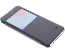 Nillkin Qin Leder-Case mit Fenster Samsung Galaxy A5 (2016) - Schwarz