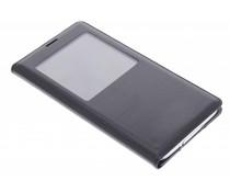 Schwarzes Flip Cover mit Fenster für das Samsung Galaxy S5 (Plus)