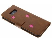 Fabienne Chapot Pink Reversed Star Booktype Handyhülle für das Samsung Galaxy S8 Plus
