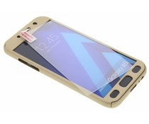 Einfarbig goldfarbener 360° Protect Case für das Samsung Galaxy A5 (2017)