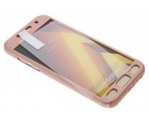 Einfarbiges rosafarbenes 360° Protect Case für das Samsung Galaxy A3 (2017)