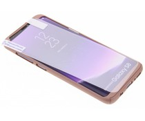 Einfarbiges rosafarbenes 360° Protect Case für das Samsung Galaxy S8