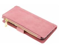 Rosafarbene luxuriöse Portemonnaie-Hülle für das Samsung Galaxy S8 Plus