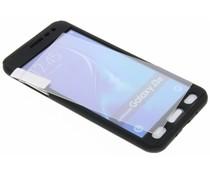 Einfarbig schwarzer 360° Protect Case für das Samsung Galaxy J3 / J3 (2016)