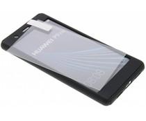 Einfarbiges schwarzes 360° Protect Case für das Huawei P9 Lite