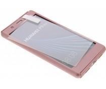Einfarbig rosafarbener 360° Protect Case für das Huawei P9 Lite