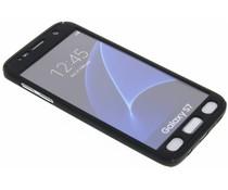 Einfarbiges schwarzes 360° Protect Case für das Samsung Galaxy S7