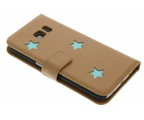 Fab. Aqua Reversed Star Booktype für das Samsung Galaxy S7