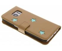 Fab. Aqua Reversed Star Booktype für das Samsung Galaxy S7 Edge