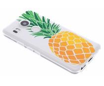 Transparente Ananas Design TPU Hülle für LG Nexus 5X