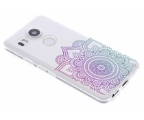 Multicolor Mandala Design TPU Hülle für LG Nexus 5X