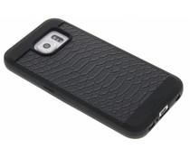 Black Rock Snake Case für Samsung Galaxy S6 - Schwarz