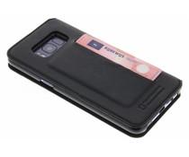 Bugatti Schwarzes Parigi Booklet Case Samsung Galaxy S8